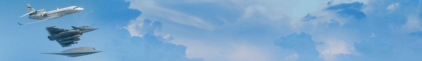 Falcon 8X, Rafale and nEUROn