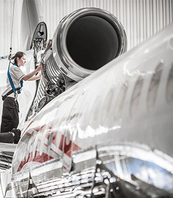 Établissement Dassault Falcon Service : Le Bourget Falcon 7X