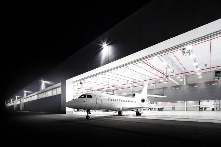 Falcon 8X au sol © Dassault Aviation - A. Daste
