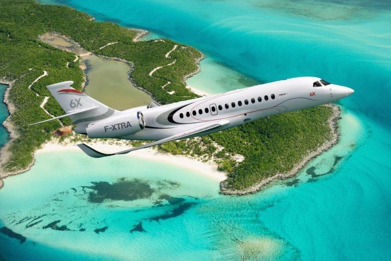 Falcon 6X © Dassault Aviation