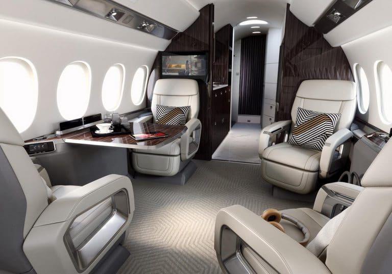 Falcon 6X - Cabine extra large © Dassault Aviation