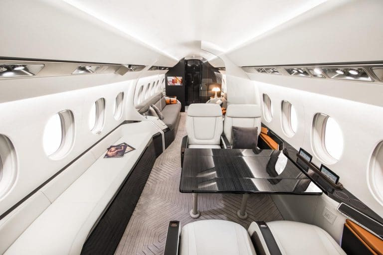 Falcon 6X - Cabine extra large © Dassault Aviation - A. Daste