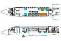 Caract ristiques du falcon 900 mpa for Interieur falcon 2000