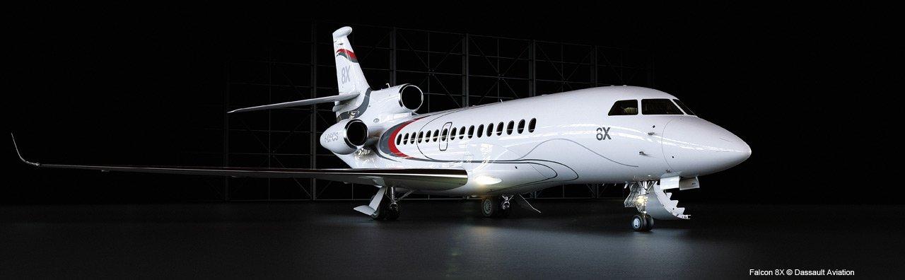 Falcon 8X © Dassault Aviation