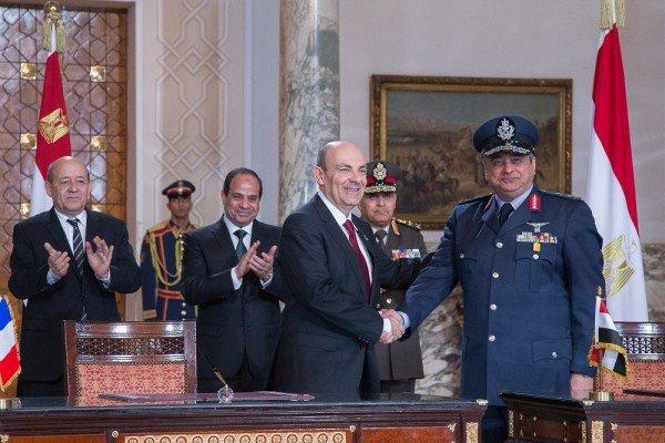 Signature du contrat de vente de Rafale à lEgypte