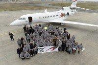 Premier vol du Falcon 8X