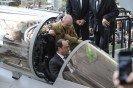 Visite de François Hollande, Président de la République, sur le site Dassault Aviation à Mérignac, le 4 mars 2015.
