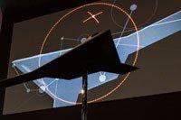 Maquette de l'étude de concept SCAF (Système de Combat Aérien Futur).