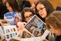 Journée Ambassadeur Métier au féminin, le 12 mars 2015 à Saint-Cloud.