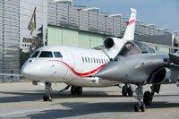 Le site Dassault Aviation à Bordeaux-Mérignac. Falcon 7X & Rafale C.