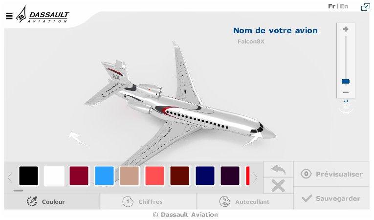 Myplanedesign personnalisez vos propres avions sur notre for Configurateur 3d gratuit