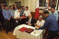 Signature Rafale inde