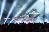 """Spectacle """"La Conquête de l'Air"""", du 9 au 14 avril 2016 au Grand Palais. Rafale B © Dassault Aviation - S. Randé"""
