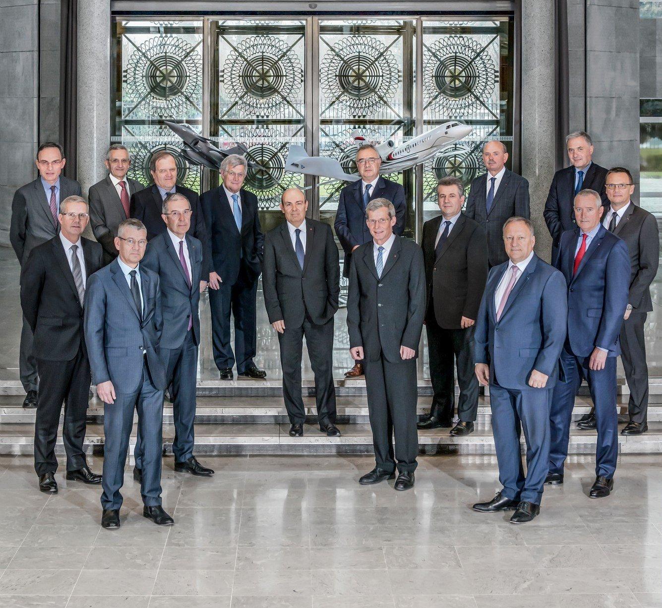 Comité de Direction de Dassault Aviation.