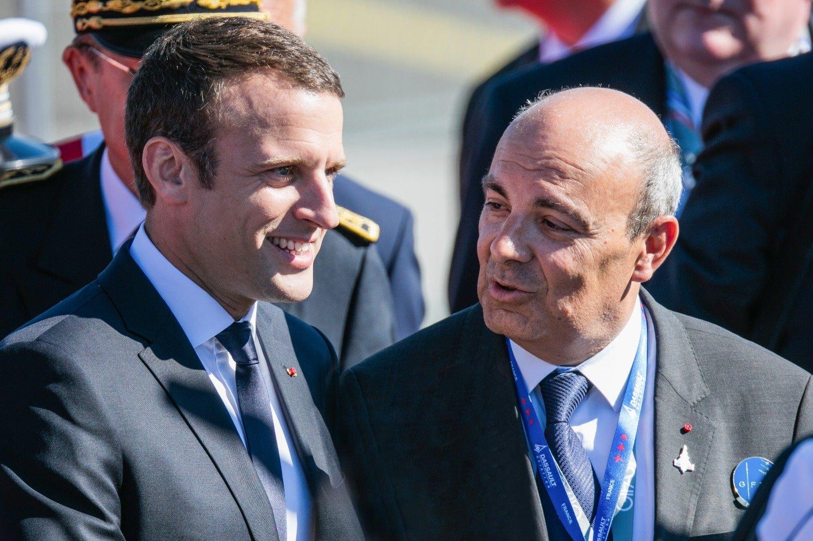 Faits marquants 2017 2018 dassault aviation for Salon du bourget 2018