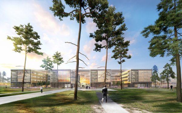 Dassault Aviation lance la construction d'un bâtiment tertiaire pour s