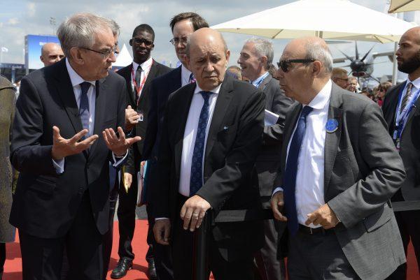 Visite du ministre de l'Europe et des Affaires étrangères