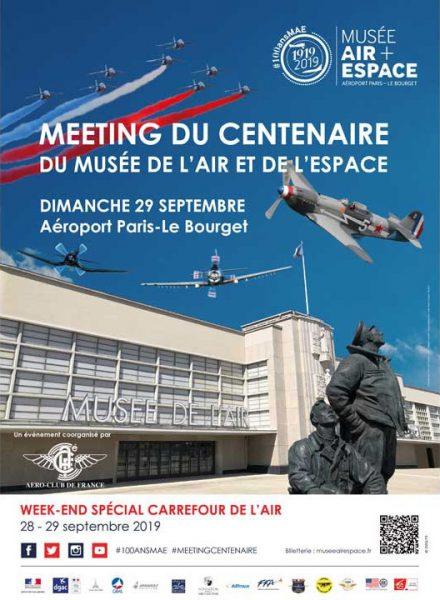 Événement. Meeting du Centenaire du Musée de l'air et de l'espace Pari
