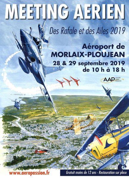Meeting aérien de Morlaix 2019 : Des Rafale et des ailes