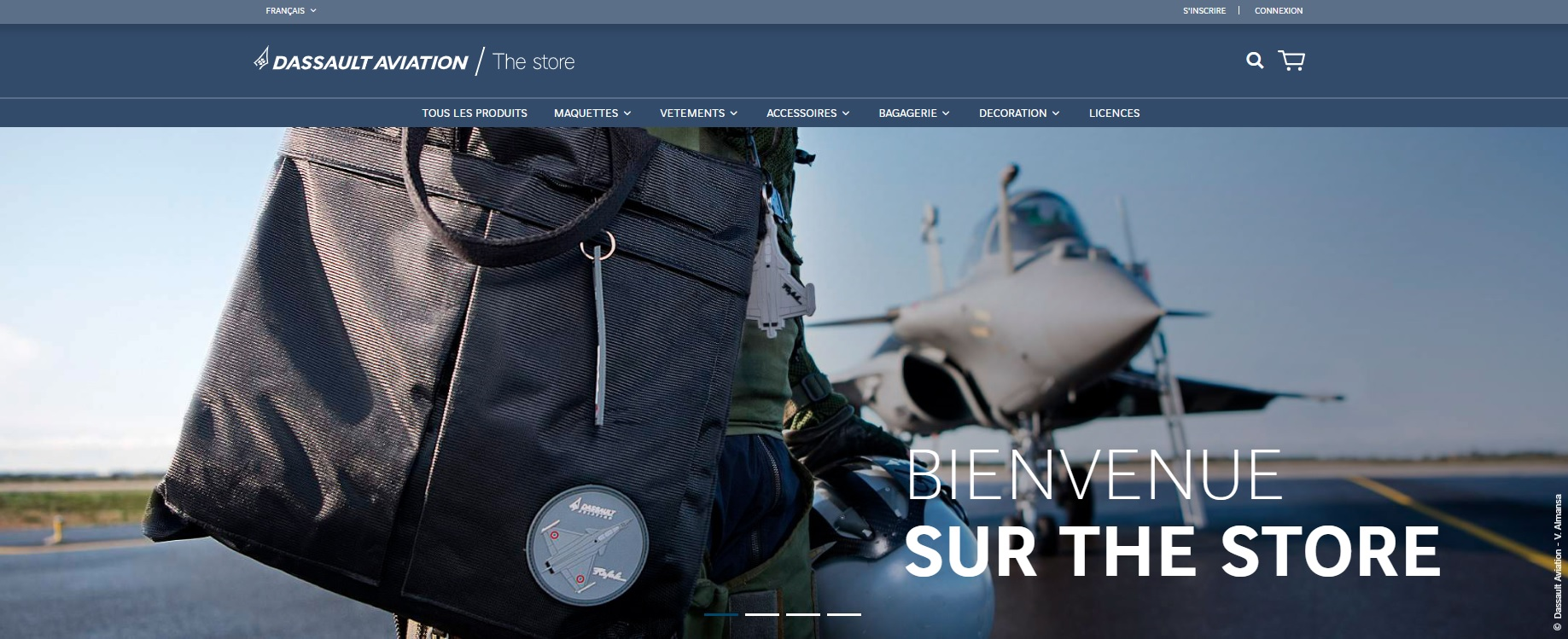 Boutique The Store – Dassault Aviation