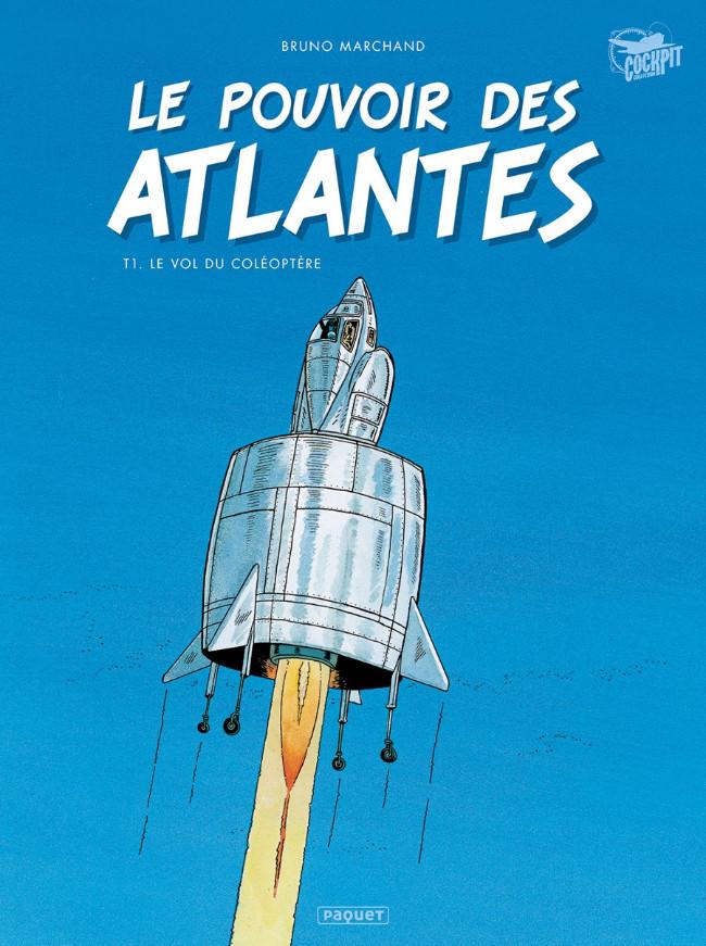 BD : « Le pouvoir des Atlantes – tome 1 Le Vol du coléoptère »