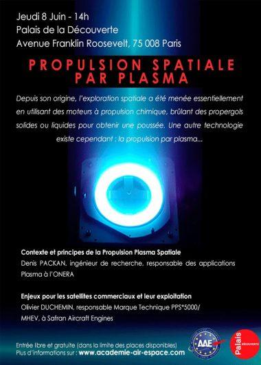 conférence propulsion spatiale par plasma