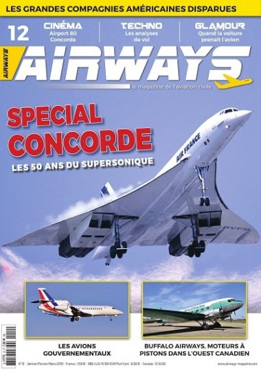 magazine Airways spécial concorde
