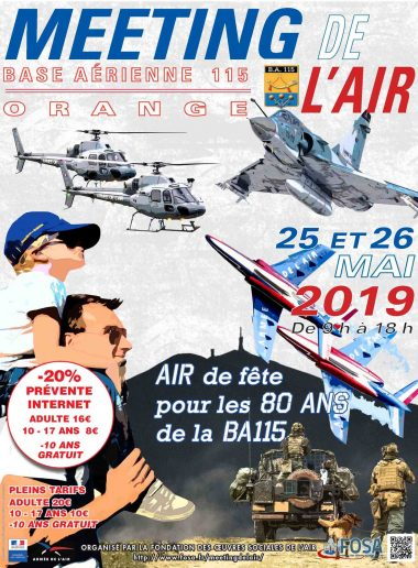 Meeting de l'air Orange 2019