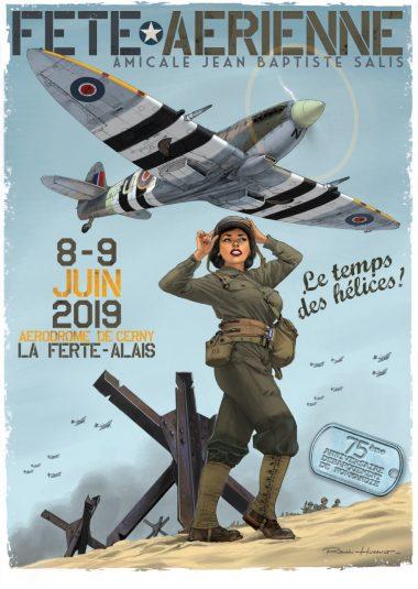Affiche 2019 du meeting Ferté-Alais