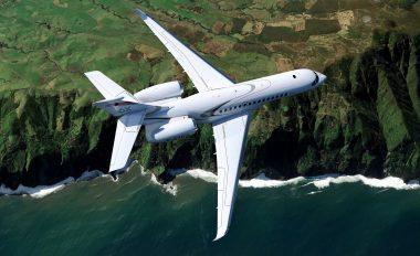 Falcon 6X en vol