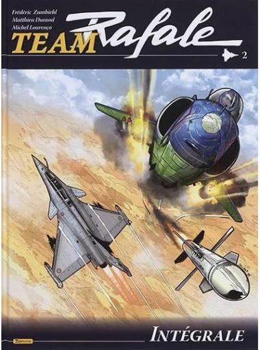 L'intégrale de la BD « Team Rafale », volume 2