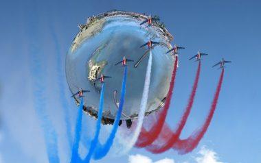 Show aérien au Cap Agde