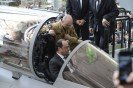 Visit of François Hollande, French President at Dassault Aviation's facility in Mérignac, 4th March 2015.