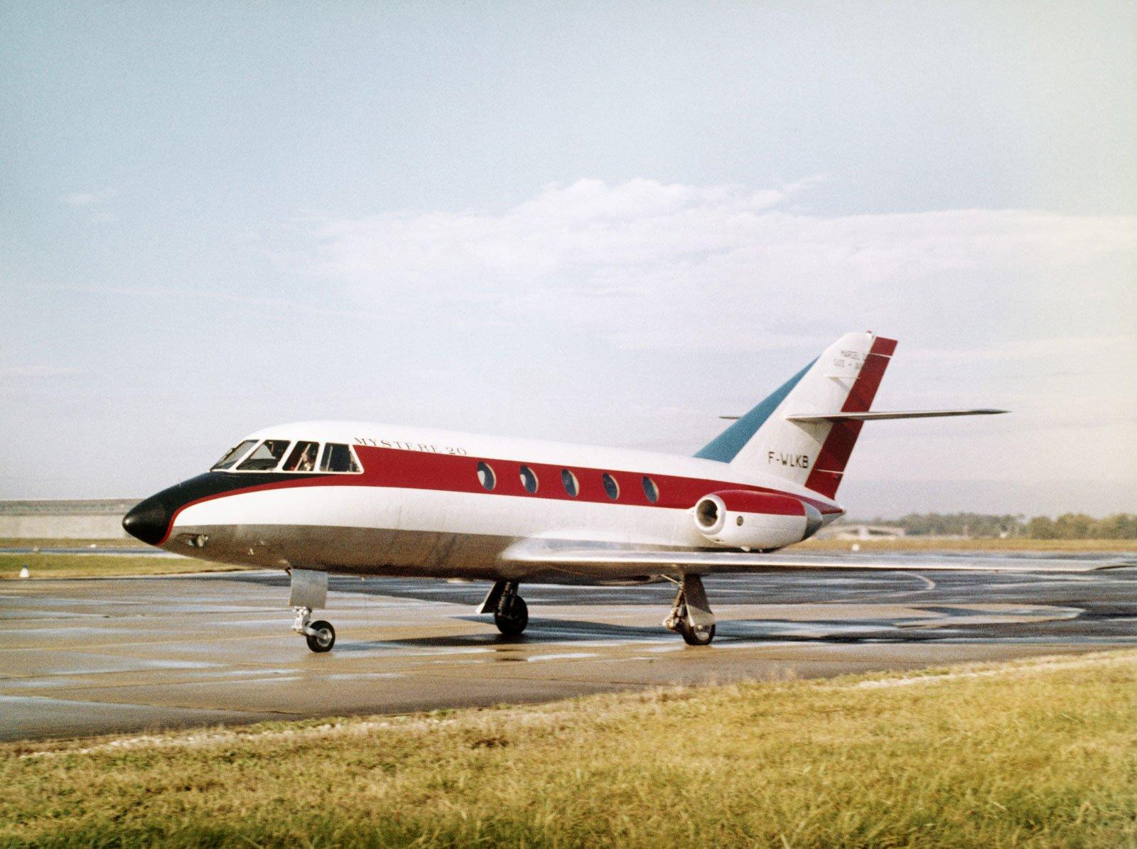 Mystre Falcon 20 200 Origins Characteristics And Performance Data Jet Aircraft Sound Generator Circuit Schematic