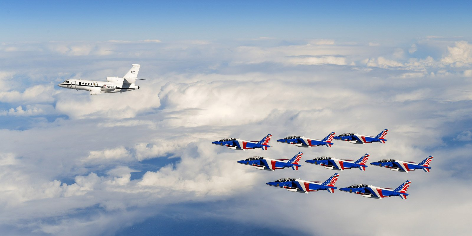 Common Vision Tour >> The Patrouille de France's tour of the United States of America