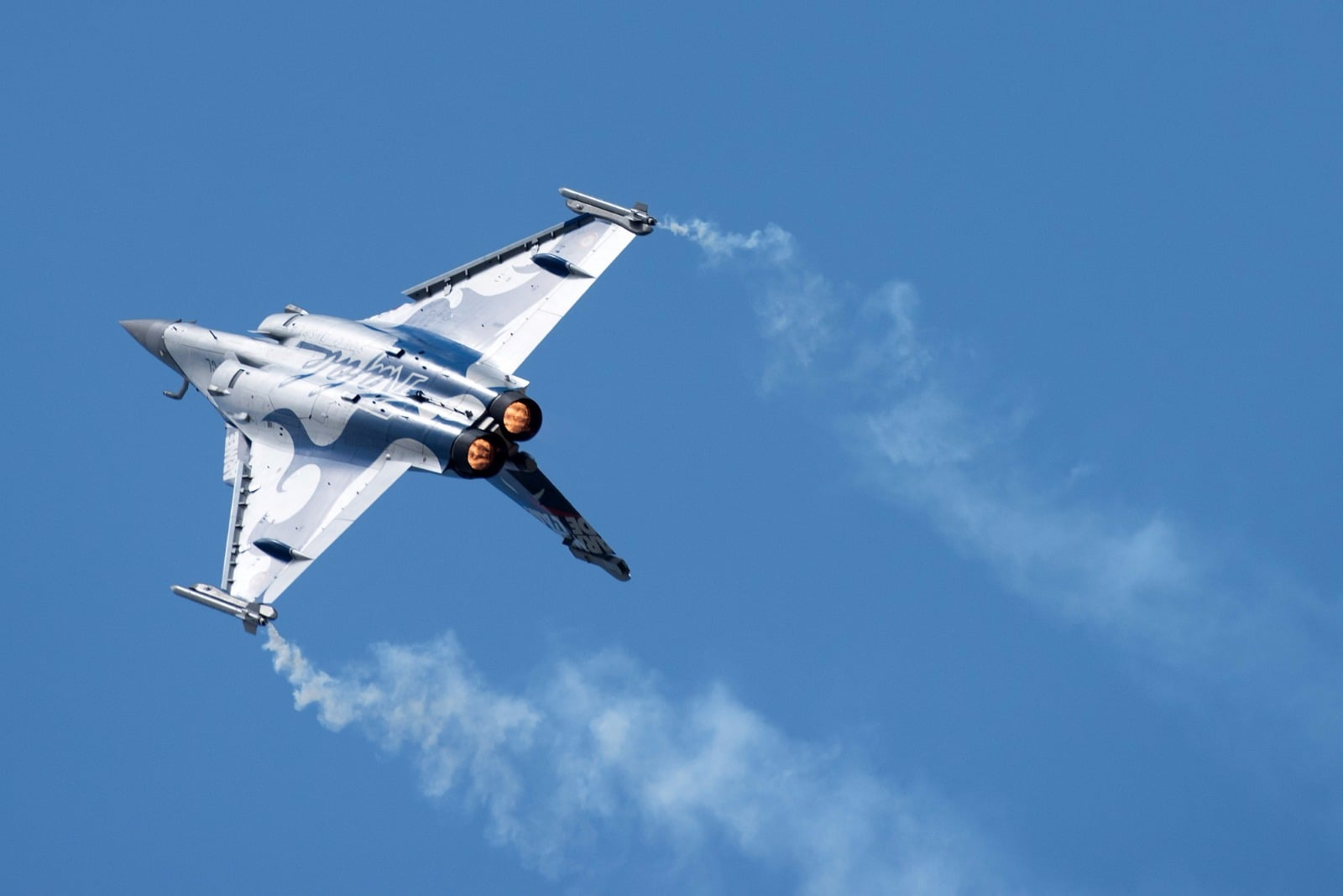 The Rafale, the latest Dassault Aviation combat aircraft