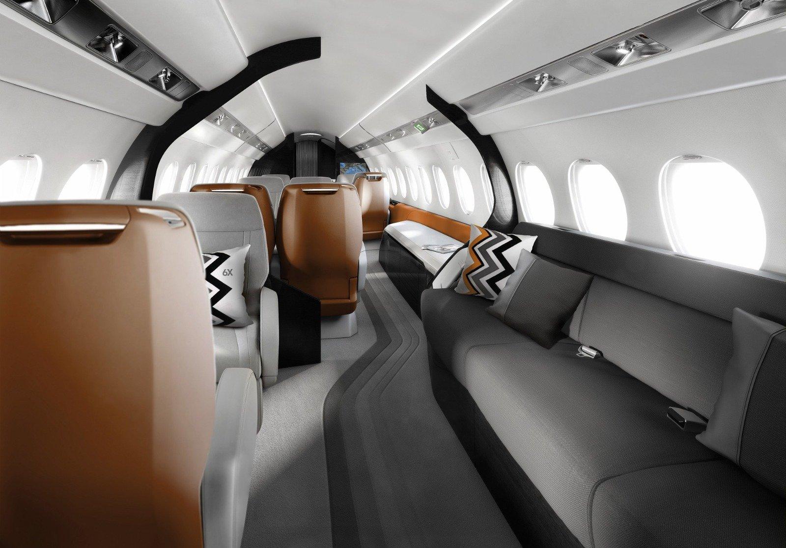 Dassault Aviation Launches Falcon 6X - Press kits