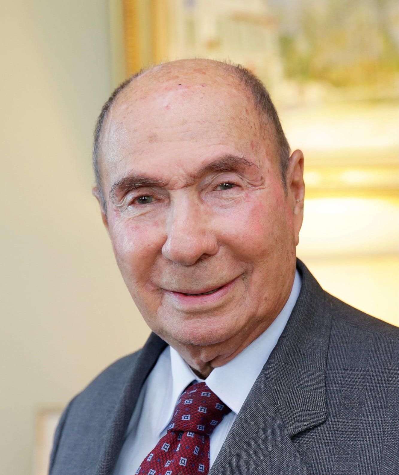 Portrait of Serge Dassault