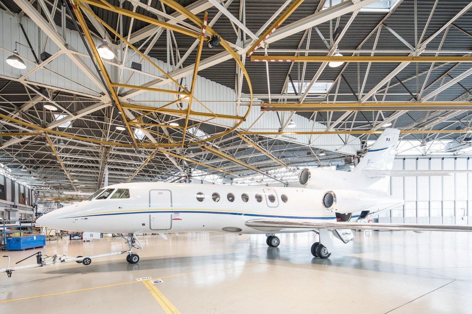 Falcon 50: origins, characteristics and performance data