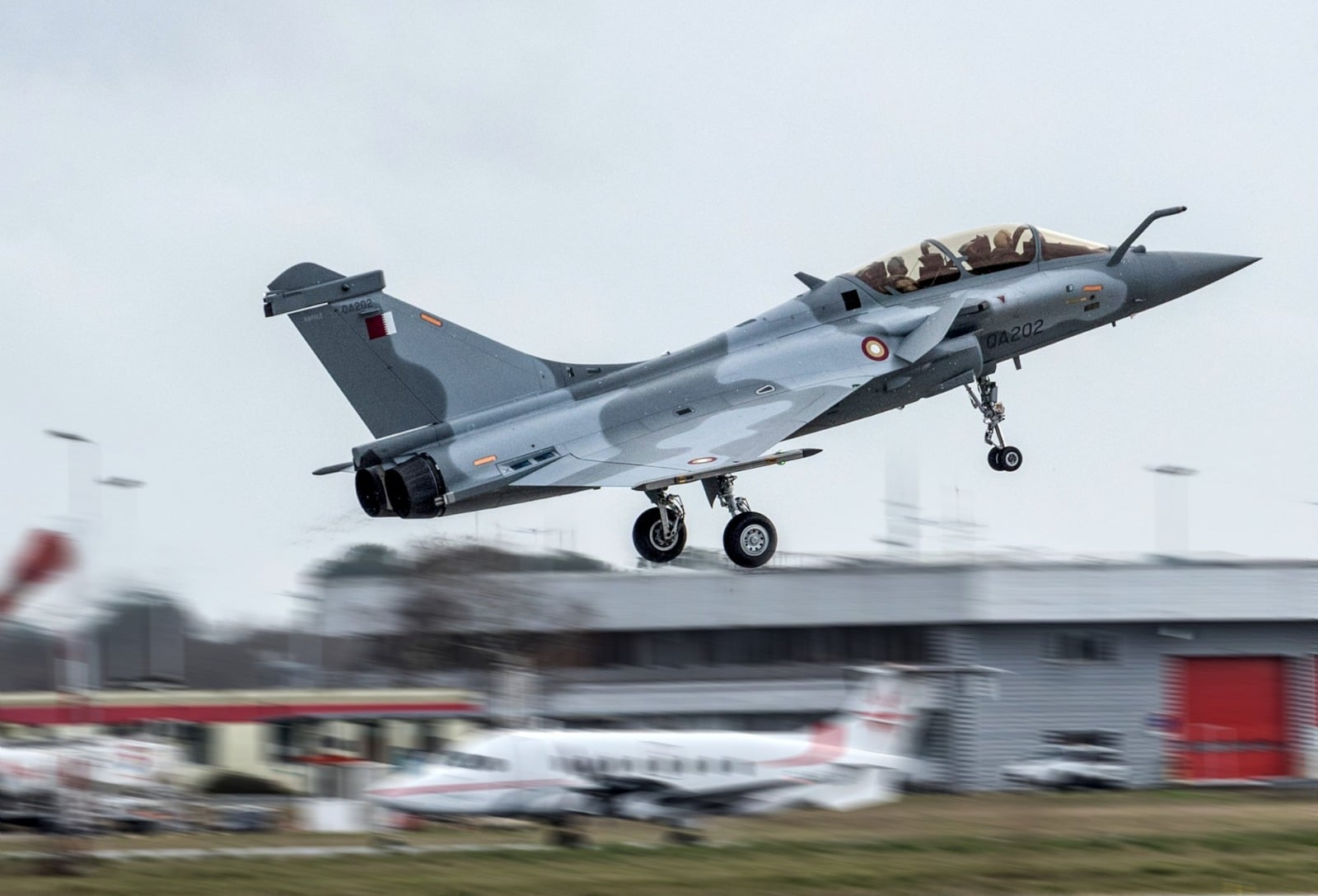 Dassault Aviation First Rafale delivery to the State of Qatar ...