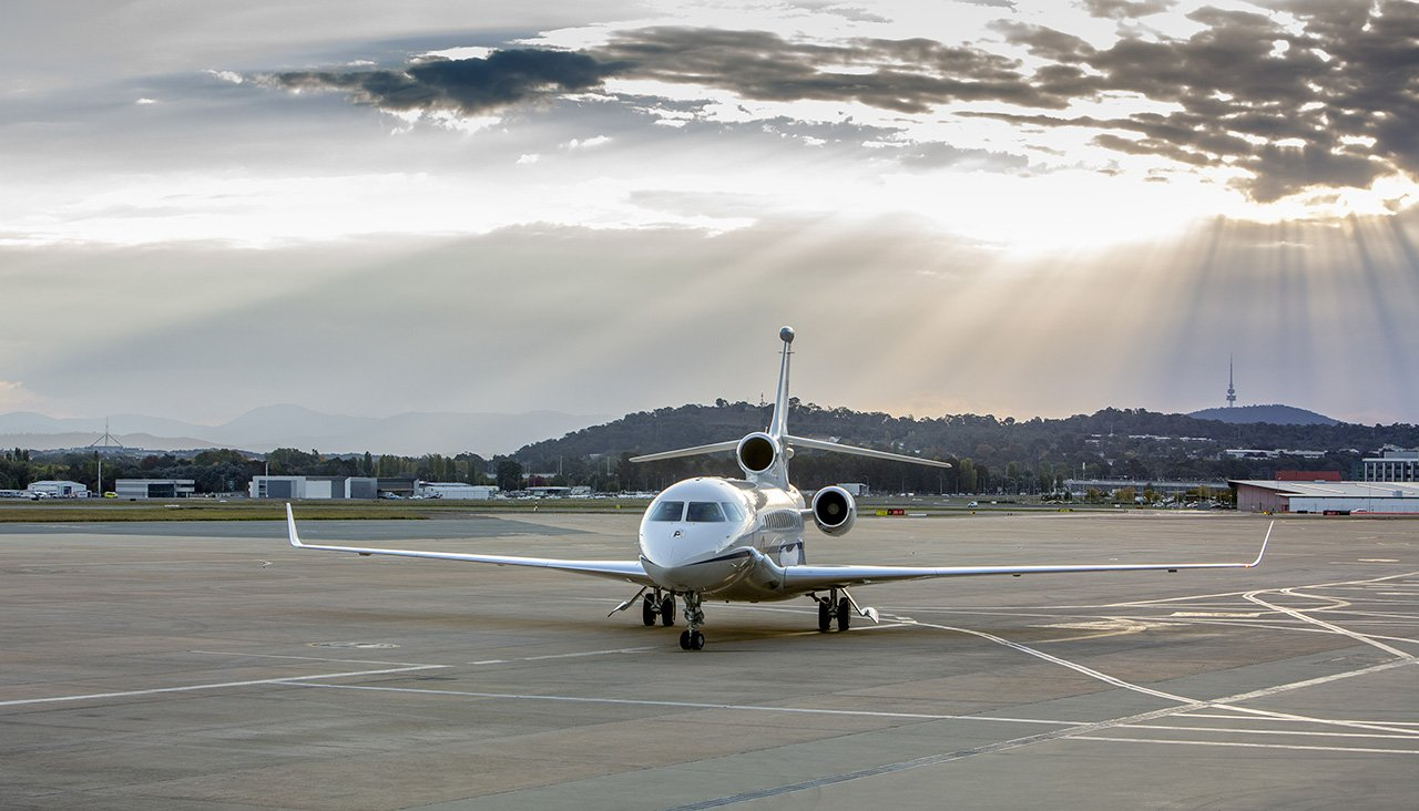 Australia receives first Falcon 7X VIP Aircraft from