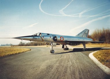 Mirage IV on the ground