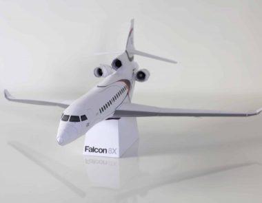 Falcon 8X Papercraft