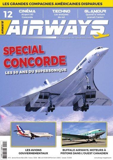 Airways magazine Concorde