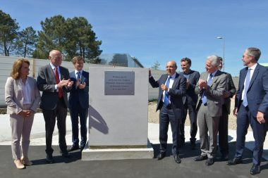 Grounbreaking ceremony of Mérignac 2020 facility in Bordeaux-Mérignac, May 14th, 2019.