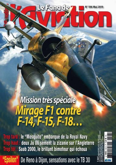 Le Fana de l'Aviation no. 594 cover page