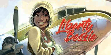 Cover of the Liberty Bessie Comic Book