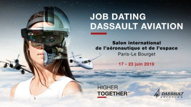 Visuel Job dating DA -Paris Air Show 2019