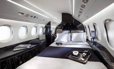 Falcon 8X Cabin