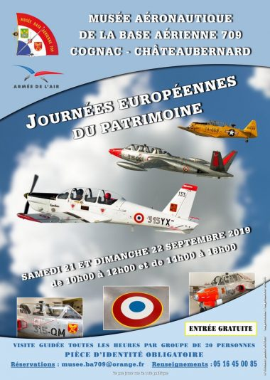 the Aeronautics Museum at the 709 Cognac-Châteaubernard Air Base